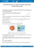 Hướng dẫn giải bài 1,2,3,4 trang 44 SGK Sinh 8