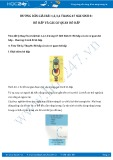 Hướng dẫn giải bài 1,2,3,4 trang 67 SGK Sinh 8