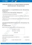 Hướng dẫn giải bài 1,2,3,4,5 trang 87 SGK Hóa 8