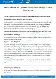 Hướng dẫn giải bài 1,2 trang 133 SGK Sinh 8