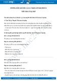 Hướng dẫn giải bài 1,2,3,4 trang 89 SGK Sinh 8