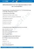 Hướng dẫn giải bài 75,76,77,78,79, 80,81,82,83 trang 33 SGK Toán 8 tập 1