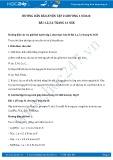 Hướng dẫn giải bài 1,2,3,4 trang 41 SGK Hóa 8