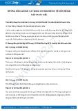Hướng dẫn giải bài 1,2 trang 130 SGK Sinh 8