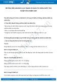 Hướng dẫn giải bài C1,C2 trang 92 SGK Lý 8