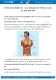 Hướng dẫn giải bài 1,2,3 trang 80 SGK Sinh 8