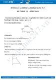 Hướng dẫn giải bài 6,7,8,9,10 trang 70,71 SGK Toán 8 tập 1