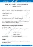 Hướng dẫn giải bài 1,2,3,4,5,6 trang 84 SGK Hóa 8