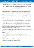 Hướng dẫn giải bài 47,48,49,50 trang 22,23 SGK Toán lớp 8 tập 1