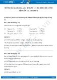 Hướng dẫn giải bài 1,2,3,4,5,6 trang 151 SGK Hóa 8