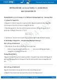 Hướng dẫn giải bài 1,2,3,4,5,6 trang 15,16 SGK Hóa 8