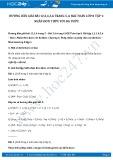 Hướng dẫn giải bài 1,2,3,4,5,6 trang 5, 6 SGK Toán lớp 8 tập 1
