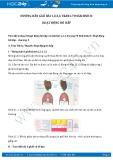Hướng dẫn giải bài 1,2,3,4 trang 70 SGK Sinh 8