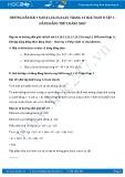 Hướng dẫn giải bài 19,20,21,22,23,24,25 trang 12 SGK Toán 8 tập 1