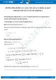 Hướng dẫn giải bài 1,2,3,4,5,6,7 trang 45 SGK Giải tích 12