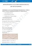 Hướng dẫn giải bài 1,2,3,4,5,6 trang 18 SGK Giải tích 12
