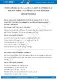 Hướng dẫn giải bài 40,41,42,43,44,45,46 trang 31 SGK Đại số 8 tập 2