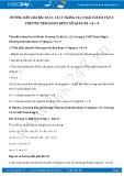 Hướng dẫn giải bài 10 trang 12 SGK Đại số 8 tập 2