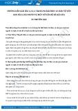 Hướng dẫn giải bài 1,2,3,4 trang 96 SGK Sinh học 12