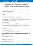 Hướng dẫn giải bài 1,2,3,4,5,6 trang 134 SGK Hóa học 12