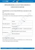 Hướng dẫn giải bài 1,2,3,4,5,6,7,8 trang 18 SGK Hóa học 12