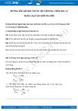 Hướng dẫn giải bài tập ôn tập chương 1 Hình học trang 26,27,28 SGK Toán 12