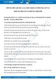 Hướng dẫn giải bài 1,2,3,4 trang 18 SGK Hình học 12