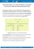 Hướng dẫn giải bài 1,2,3,4,5 trang 78 SGK Sinh học 12