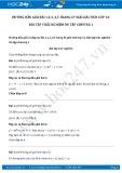 Hướng dẫn giải bài 1,2,3,4,5 trang 47 SGK Giải tích 12