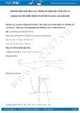 Hướng dẫn giải bài 1,2,3 trang 43 SGK Giải tích 12