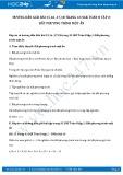 Hướng dẫn giải bài 15,16,17,18 trang 43 SGK Đại số 8 tập 2