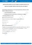Hướng dẫn giải bài 4,5,6,7,8,9 trang 44 SGK Giải tích 12