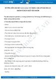 Hướng dẫn giải bài 1,2,3 trang 128 SGK Hóa học 12