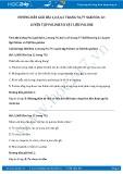 Hướng dẫn giải bài 1,2 trang 76 SGK Hóa học 12
