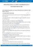 Hướng dẫn giải bài 1,2,3,4 trang 12 SGK Hình học 12