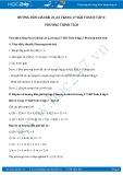 Hướng dẫn giải bài 21,22 trang 17 SGK Đại số 8 tập 2