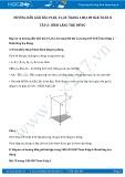 Hướng dẫn giải bài 19,20 trang 108 SGK Hình học 8 tập 2