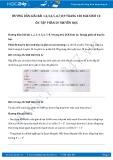 Hướng dẫn giải bài 1,2,3,4,5,6,7,8,9 trang 102 SGK Sinh học 12