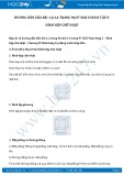 Hướng dẫn giải bài 1,2 trang 96 SGK Hình học 8 tập 2