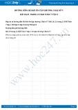 Hướng dẫn giải bài 20,21 trang 23 SGK Đại số 7 tập 2
