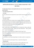 Hướng dẫn giải bài 10,11,12,13,14 trang 32 SGK Đại số 7 tập 2