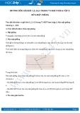 Hướng dẫn giải bài 1,2,3,4,5 trang 73 SGK Hình học 6 tập 2