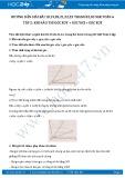 Hướng dẫn giải bài 18,19,20,21,22 trang 82 SGK Hình học 6 tập 2