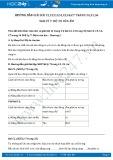 Hướng dẫn giải bài C1 trang 34 SGK Vật lý 7