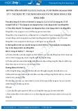Hướng dẫn giải bài C1 trang 63 SGK Vật lý 7