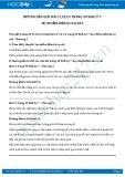 Hướng dẫn giải bài C1,C2,C3 trang 49 SGK Vật lý 7