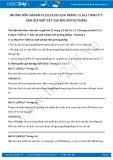 Hướng dẫn giải bài C1 trang 15 SGK Vật lý 7
