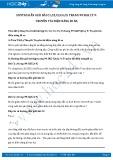 Hướng dẫn giải bài C1,C2,C3,C4,C5 trang 99 SGK Vật lý 9