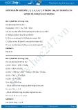 Hướng dẫn giải bài 1,2,3,4,5,6,7,8 trang 146,147 SGK Hóa 10