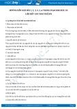 Hướng dẫn giải bài 1,2,3,4,5,6 trang 59,60 SGK Hóa 10